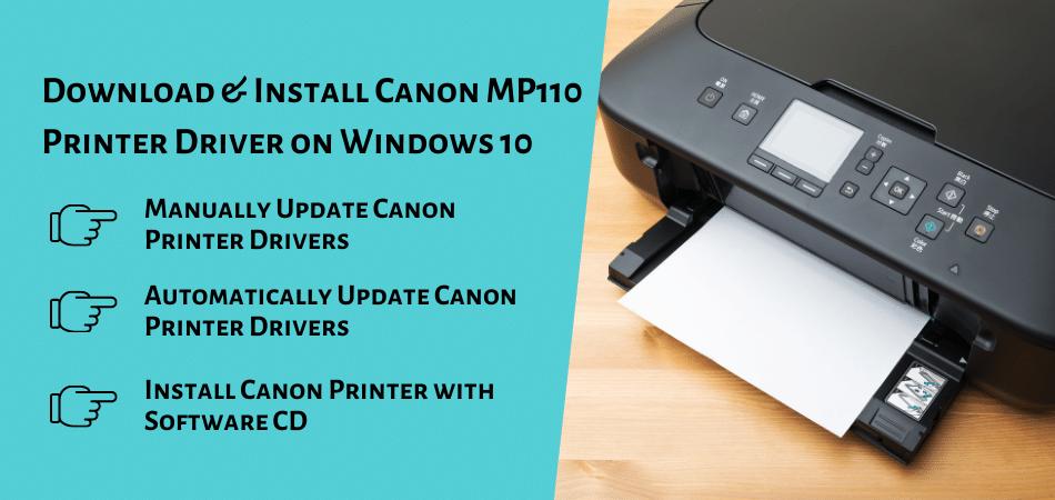 Install Canon MP110 Printer Driver on Windows 10