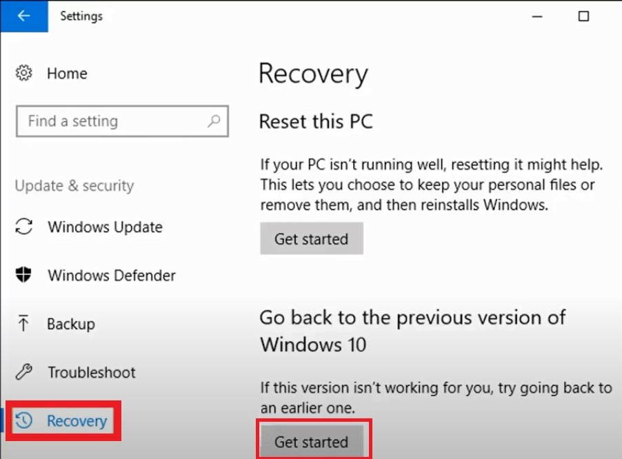 previous version of Windows to fix Printer Not Printing Word Documents
