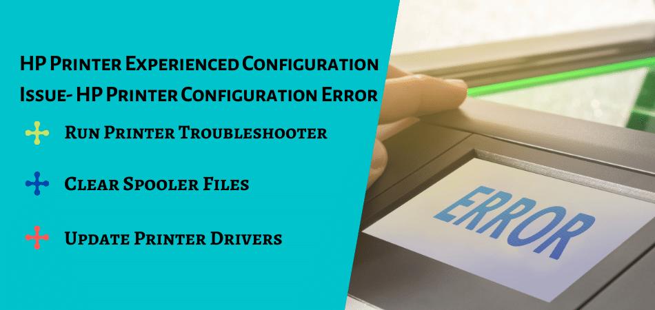 HP Printer Configuration Error