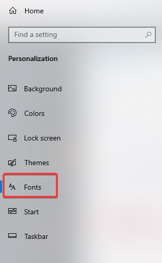 choose fonts to fix Hp Printer Prints Unexpected Test