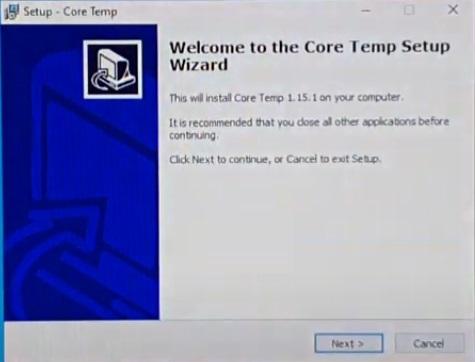 install core temp
