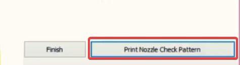 Print Nozzle Check Pattern