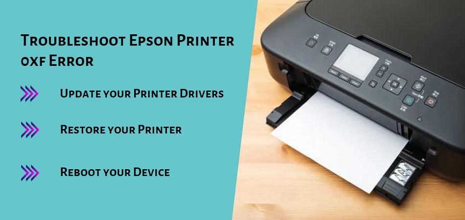 Epson Printer 0xf Error