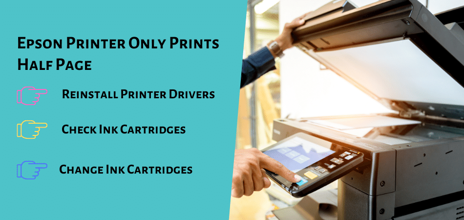 Epson Printer Only Prints Half Page