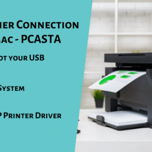 HP USB Scanner Connection Error with Mac - PCASTA