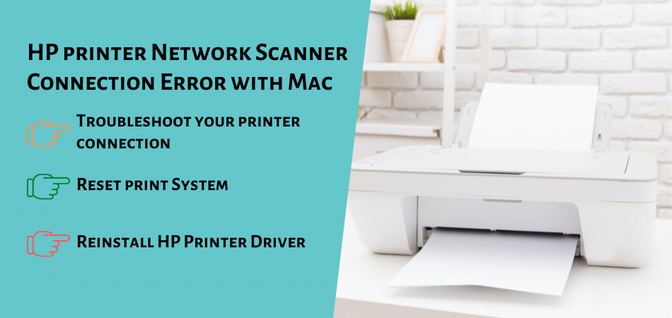 HP printer Network Scanner Connection Error with Mac