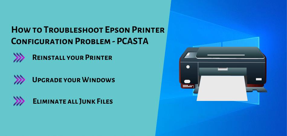 How to Troubleshoot Epson Printer Configuration Problem