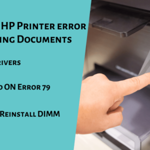 Troubleshoot HP Printer error 79 while Printing Documents