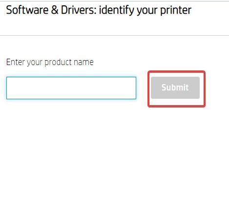 enter model no to Fix HP Printer Error OXC4EB827F