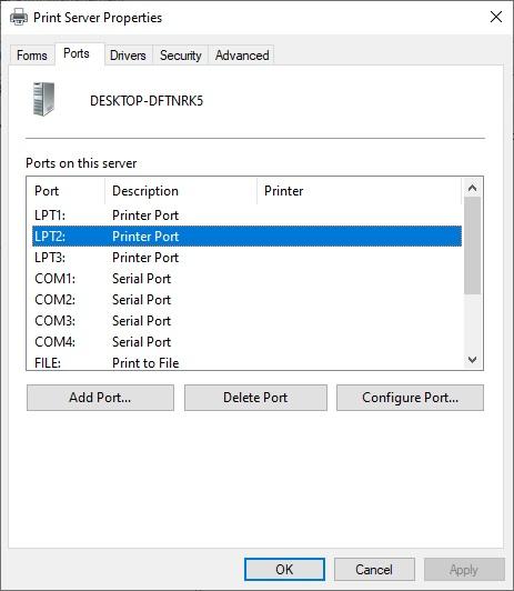 ports to Fix Epson Printer Prints 2 Copies