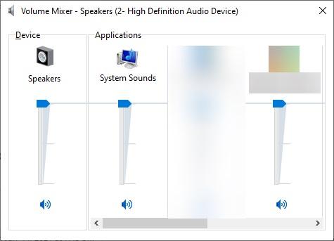 Adjust the sound
