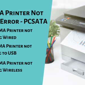 Canon PIXMA Printer Not Responding Error