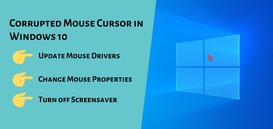 Corrupted Mouse Cursor in Windows 10