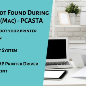 HP Printer Not Found During Driver Setup (Mac) - PCASTA