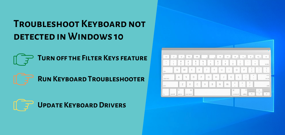 Troubleshoot Keyboard not detected in Windows 10