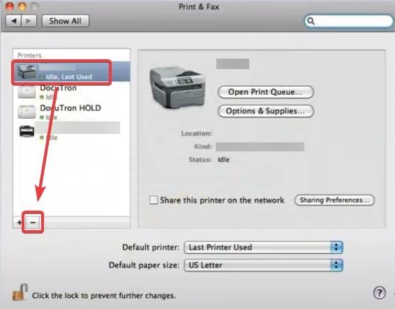 remove printer form mac to Remove HP printer driver 'malware