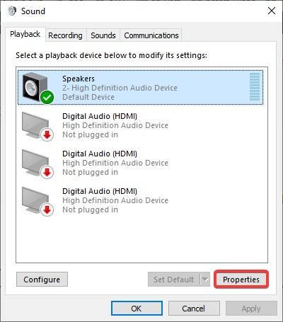 sound Properties