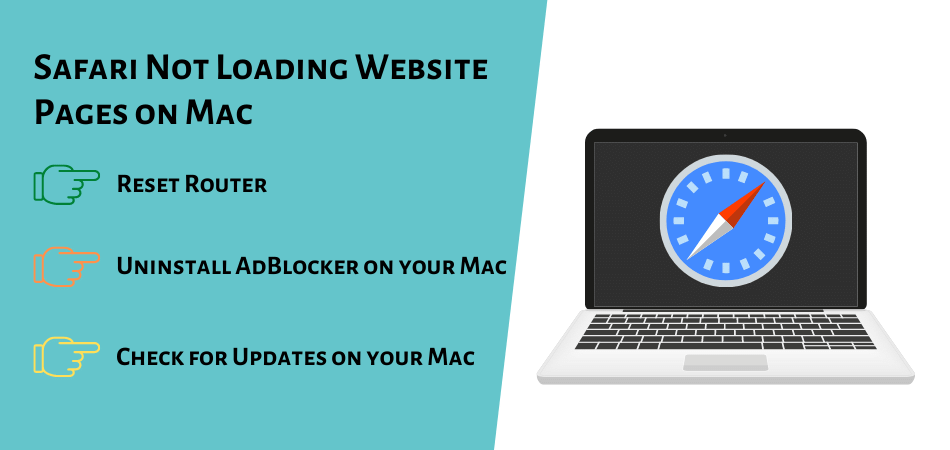 Safari Not Loading Website Pages on Mac