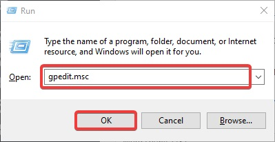 gpedit to Disable Windows 10/11 Updates