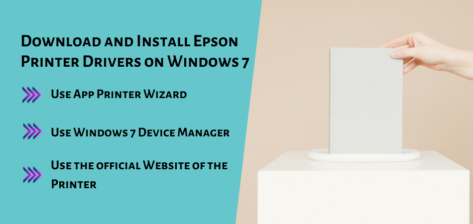 Download and Install Epson Printer Drivers on Windows 7