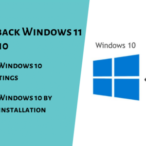 How to Rollback Windows 11 to Windows 10