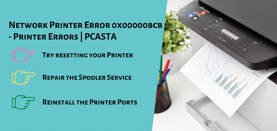 Network Printer Error 0x00000bcb